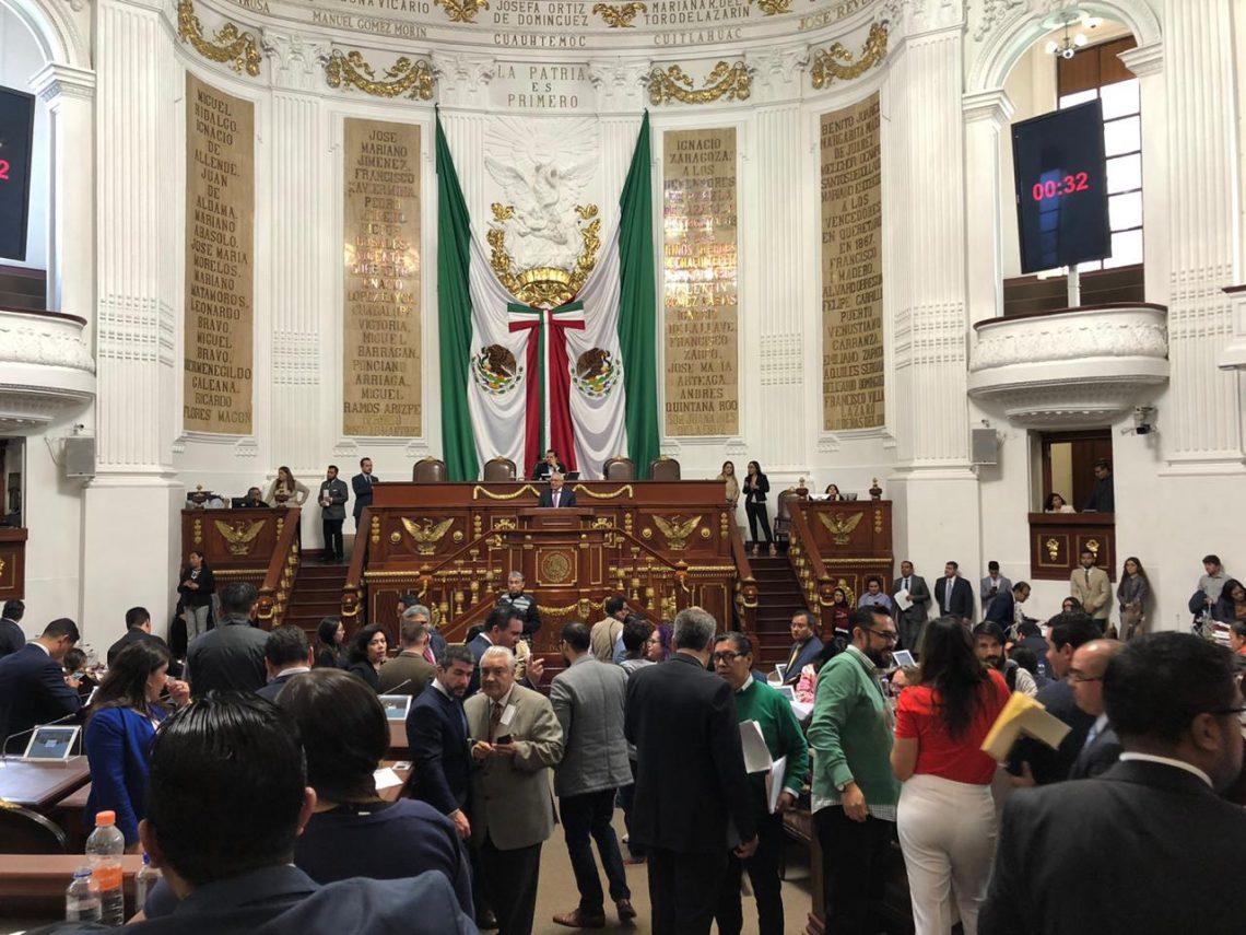 Exhorta el Congreso de la CDMX a diversas autoridades citadinas para que las políticas públicas y obras que realicen privilegien a los peatones