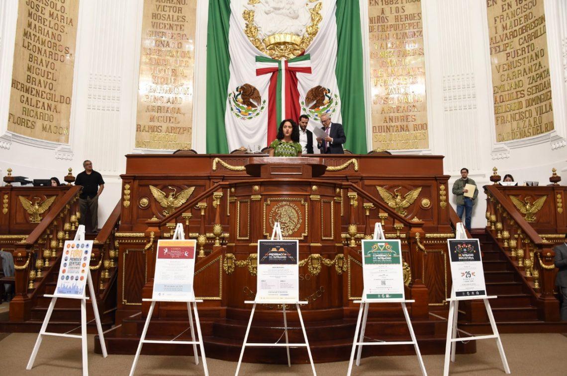 Presentan ante el pleno del Congreso local la iniciativa de Ley de Patrimonio Cultural, Natural y Biocultural