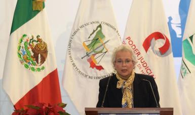 Lista la Plataforma Nacional del Registro de Detenidos, anuncia la secretaria de Gobernación