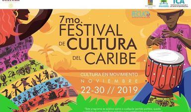 Cinco países y ocho estados conviven en el Séptimo Festival de Cultura del Caribe