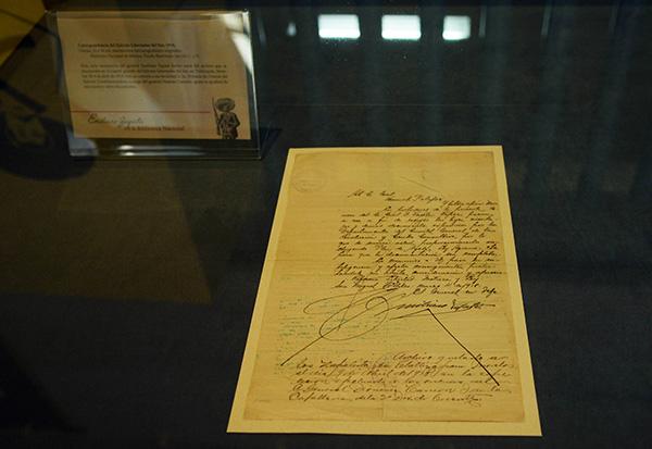 Exhibe la UNAM manuscrito inédito de Emiliano Zapata