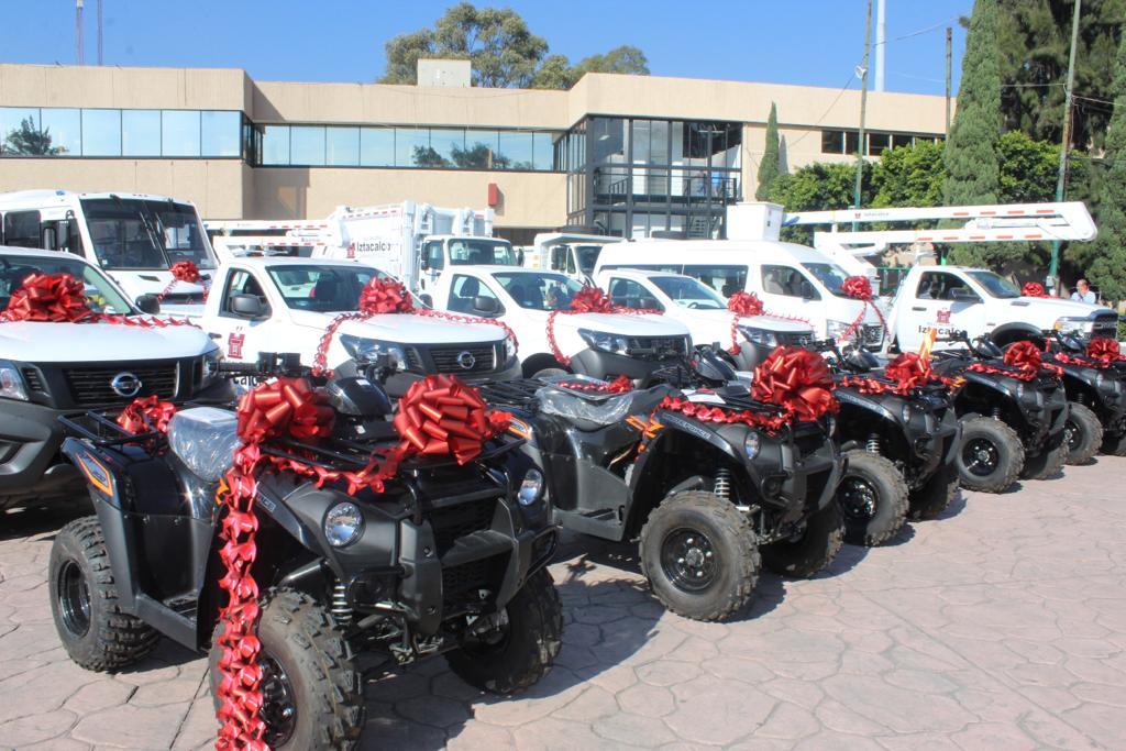 Con una inversión de más de  26 millones de pesos, Iztacalco estrena vehículos y plataformas de trabajo.