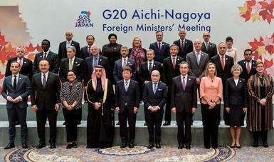 México participa en la Reunión Ministerial de Relaciones Exteriores del G20