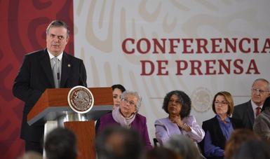 El Gobierno de México cumplió con los acuerdos y compromisos para el proceso de ratificación del T-MEC