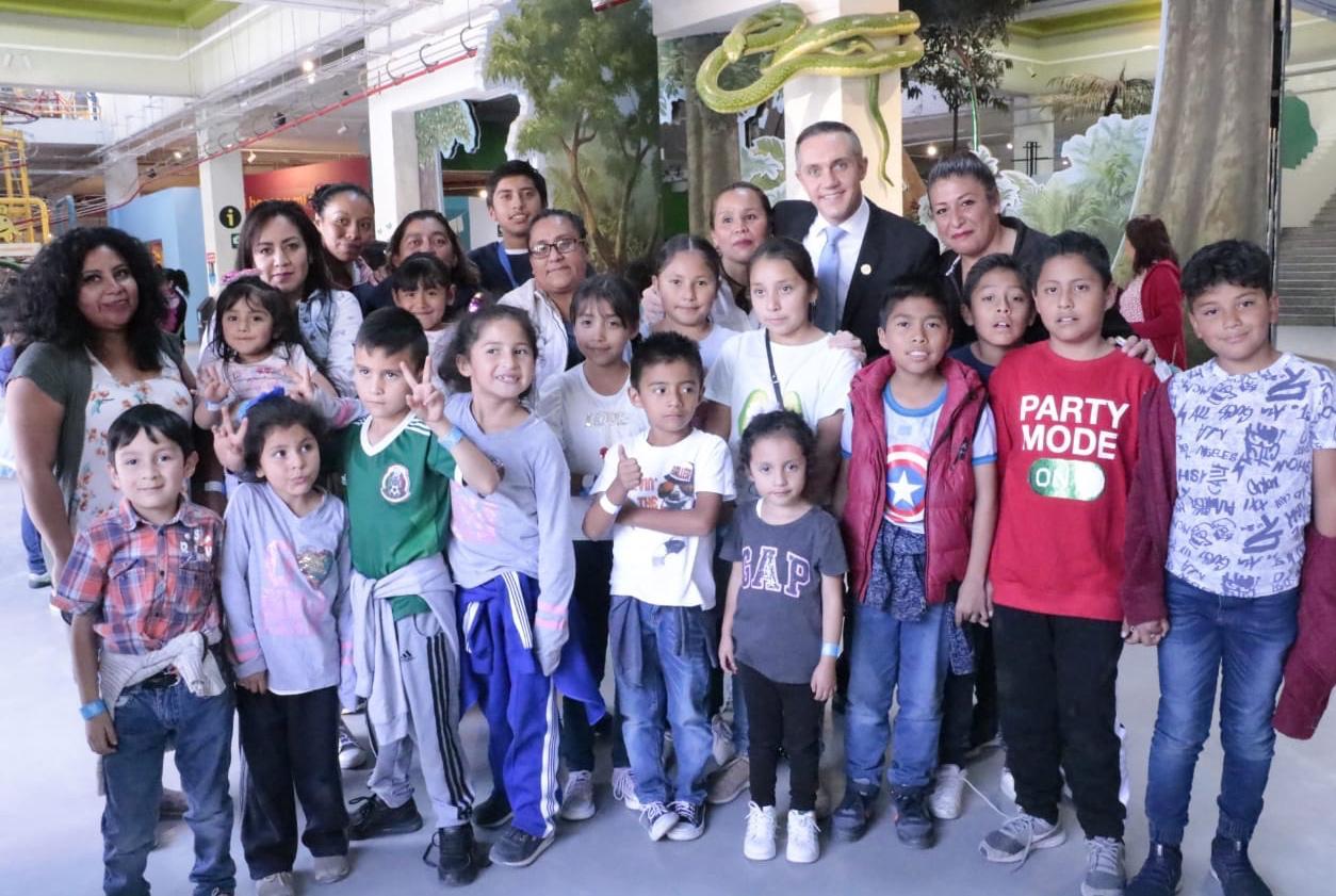 Cuajimalpa primer alcaldía que colabora con Papalote Museo del Niño en beneficio de la población infantil