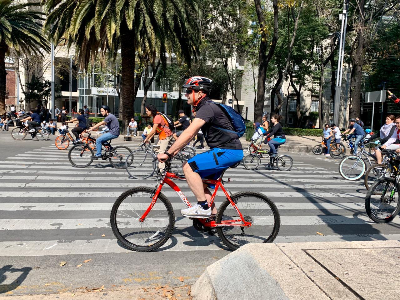 Miles salen a rodar en el Ciclotón Ciudad de México correspondiente a noviembre