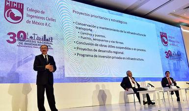 De 34 mil millones de pesos, presupuesto a carreteras el próximo año: Escalante Sauri