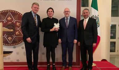 La Embajada de Canadá reconoce al FIC por fortalecer lazos culturales