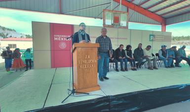 Con una inversión de casi 55 mdp, incorpora Producción para el Bienestar a productores de la sierra Tarahumara