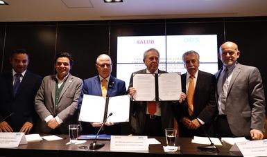 México firma acuerdo para participar en fondos Rotatorio y Estratégico de la OPS para compra de medicamentos