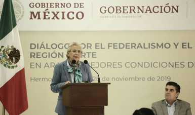 Fortalecer las capacidades de los municipios, prioridad de todos por un objetivo común: México, afirma Olga Sánchez Cordero