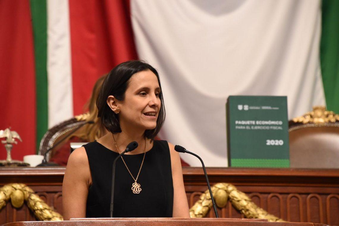 La secretaria de Administración y Finanzas presentó el Paquete Económico 2020 al Congreso CDMX; estima ingresos de 238 mil mdp