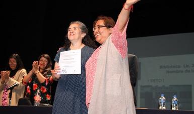 Se lleva a cabo la premiación Retos para Transformar 2019 en la Biblioteca de México