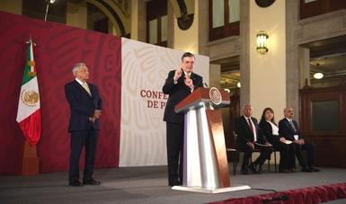 El Gobierno de México fortalece la cooperación en materia de seguridad con EE.UU.