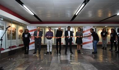 A cien años del fusilamiento del general Felipe Ángeles, se inaugura exposición en su honor en metro Pino Suárez