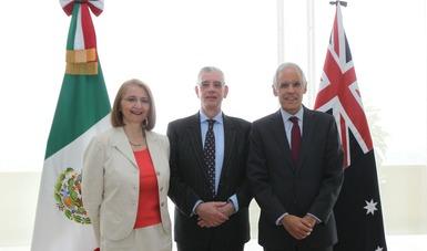 México y Australia acuerdan fortalecer la relación bilateral en la VI Reunión del Mecanismo de Consultas Políticas