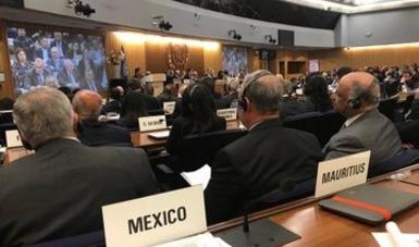 México es reelecto al Consejo de la Organización Marítima Internacional
