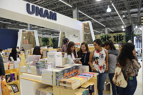 Gana la UNAM premio al mejor estand en la FIL Guadalajara 2019