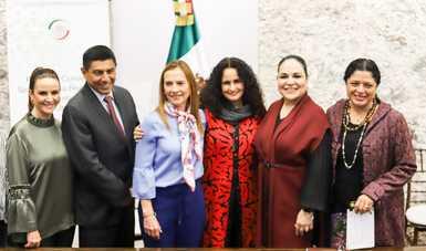 Unen esfuerzos Secretaría de Cultura y Senado por la divulgación del patrimonio histórico de México