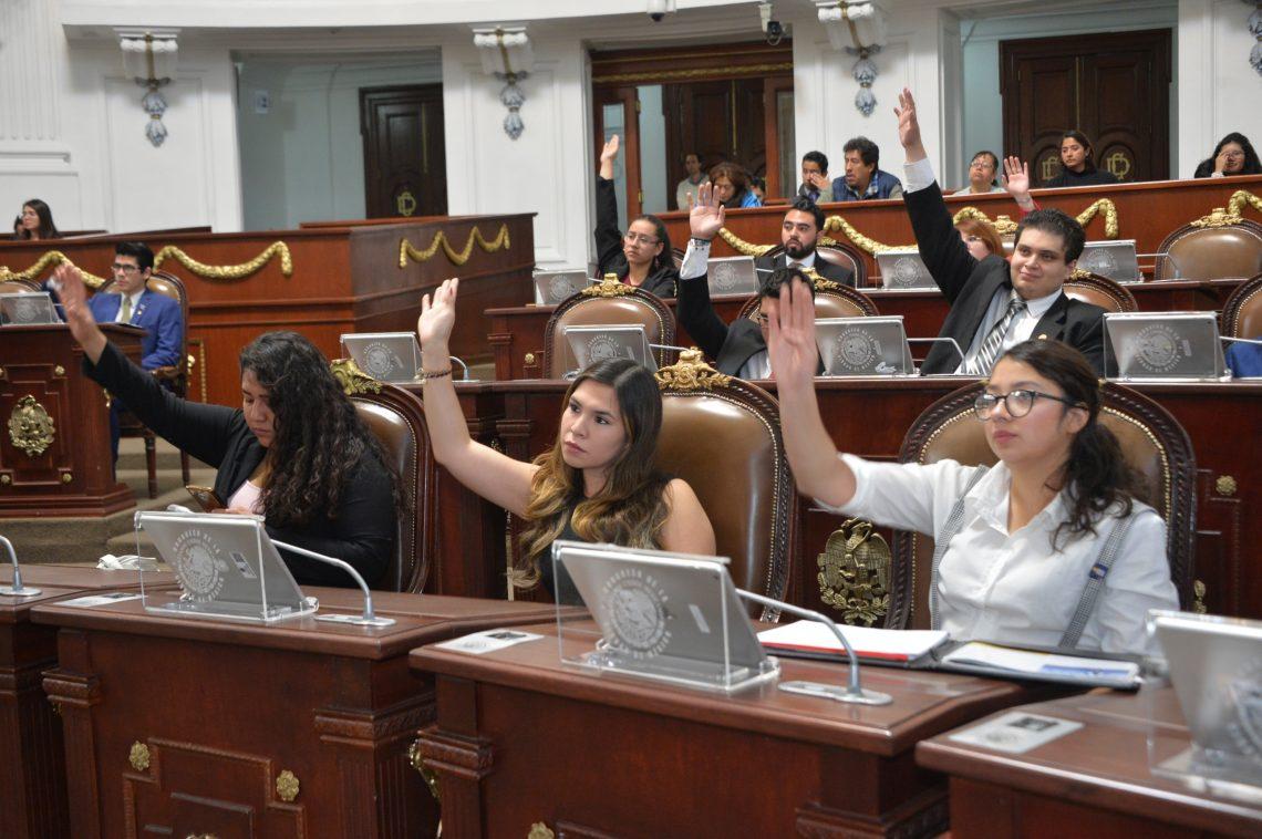 Concluye Primer Parlamento Juvenil 2019 del Congreso de la Ciudad de México