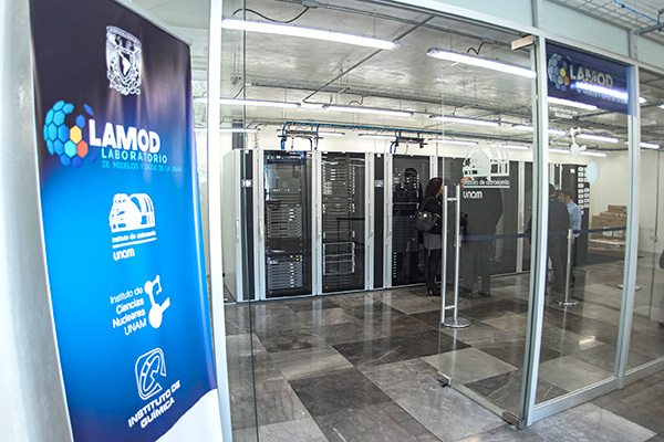 Inaugura la UNAM laboratorio de supercómputo