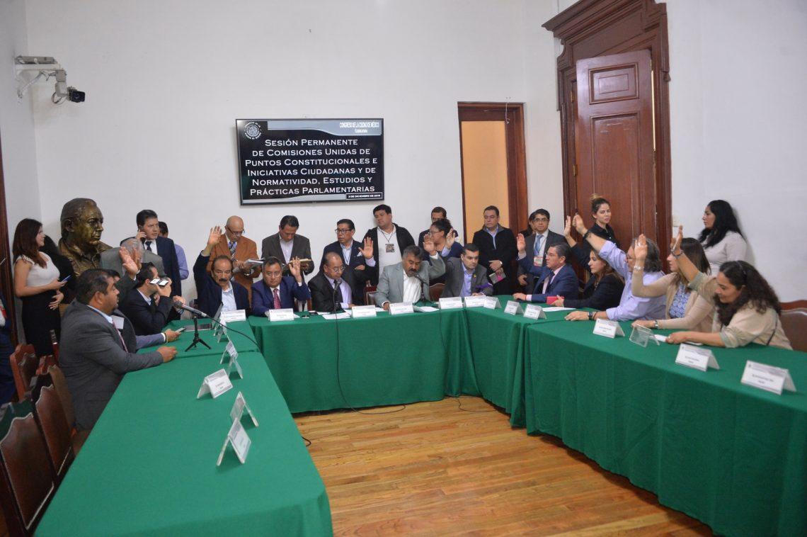 En comisiones aprueban reformas a la Constitución local, la Ley Orgánica del Poder Judicial y la Ley Orgánica del Congreso de la CDMX