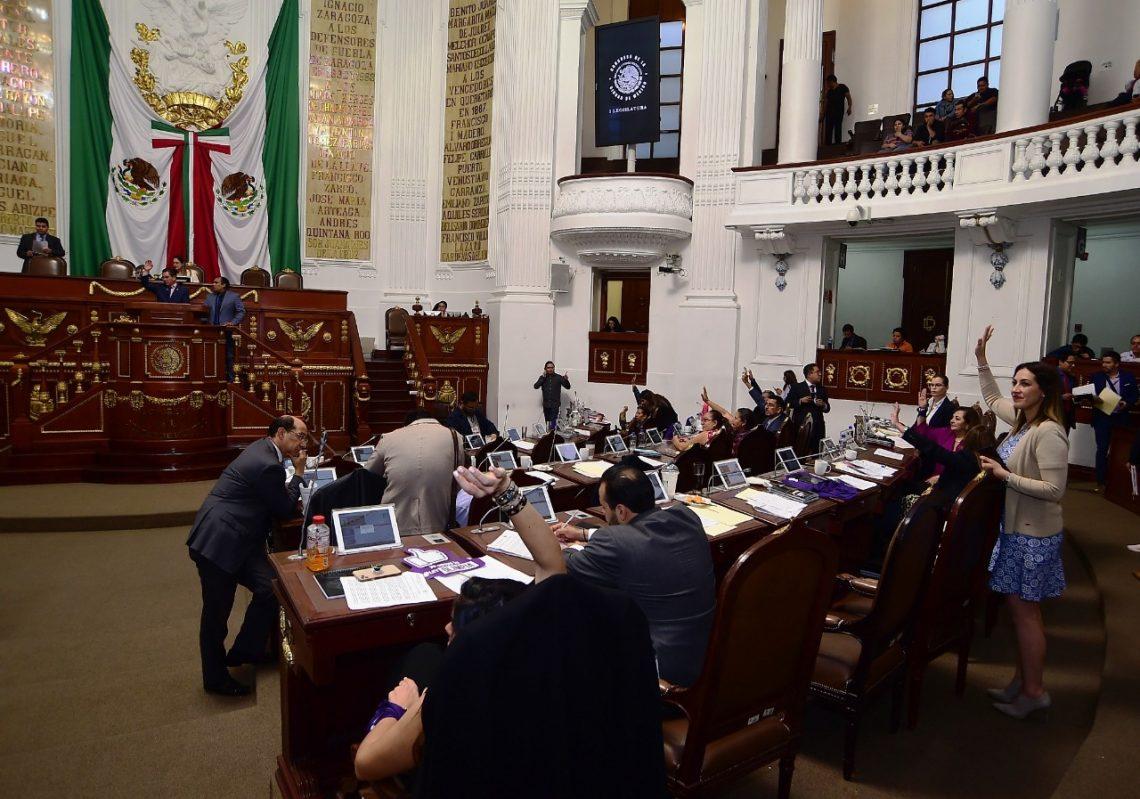 Diputados del Congreso local aprobaron dictámenes sobre eficiencia presupuestal, que fueron remitidos al Gobierno de la CDMX