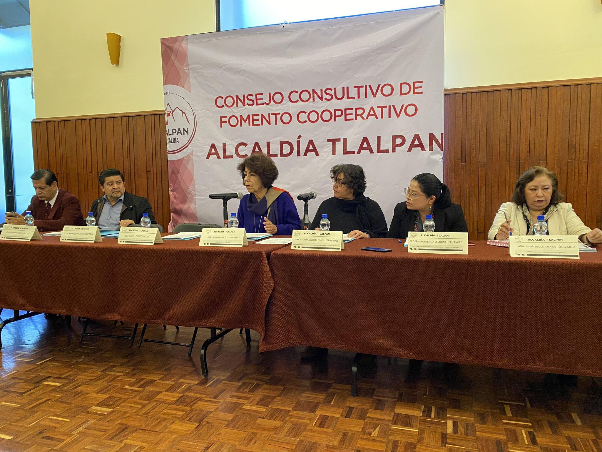 Tlalpan instala Consejo para cooperativas