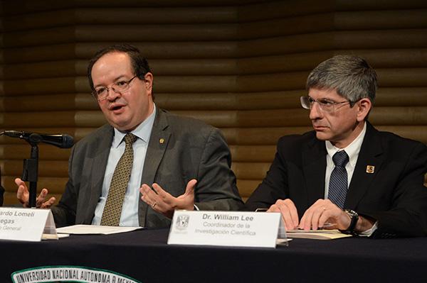 Ratifica el rector a William Lee como coordinador de la Investigación Científica de la UNAM