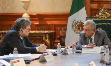 Buena reunión con fiscal general de Estados Unidos, afirma presidente López Obrador