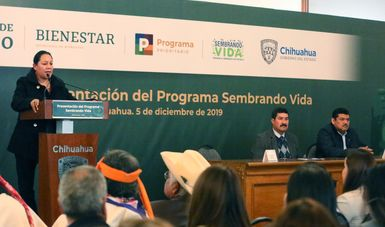 Presentan Sembrando Vida en Chihuahua
