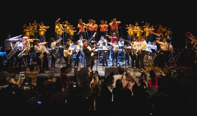 El Ensamble de Alientos y Percusión del Centro Histórico abrirá el Festival Academia Jartzz en Los Pinos