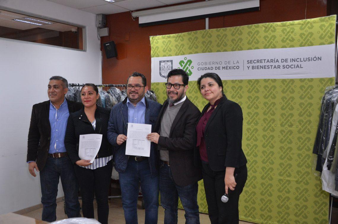 El Congreso de la Ciudad dona uniformes y zapatos  al Instituto de Atención a Poblaciones Prioritarias de la Secretaría de Inclusión y Bienestar Social