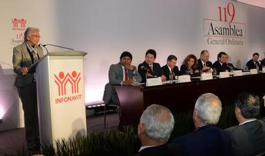 Se consolida Infonavit como uno de los pilares para el desarrollo del país: Olga Sánchez Cordero