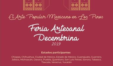 El colorido y tradición de las fiestas navideñas tradicionales presente en El Arte Popular Mexicano en Los Pinos
