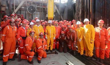 El petróleo es del pueblo y nos ayudará a sacar adelante al país, afirma presidente López Obrador desde campo Xikin