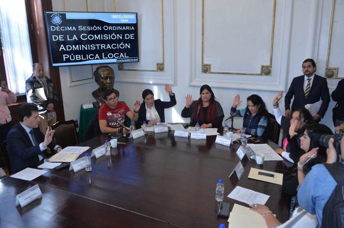 El Congreso capitalino analiza iniciativas de la Jefa de Gobierno para expedir Ley de Mejora Regulatoria y Ley de Responsabilidad Social Mercantil