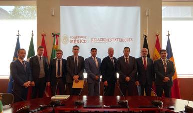 México y países de la Unión Europea inician cooperación en materia de flujo ilícito de armas y seguridad
