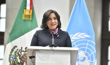 Anuncia Irma Sandoval adhesión de México a los principios de divulgación de transparencia de los beneficiarios finales