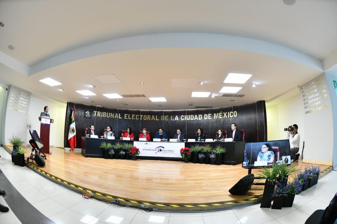 Asume  IECM presidencia del Observatorio de Participación Política de las Mujeres en la Ciudad de México