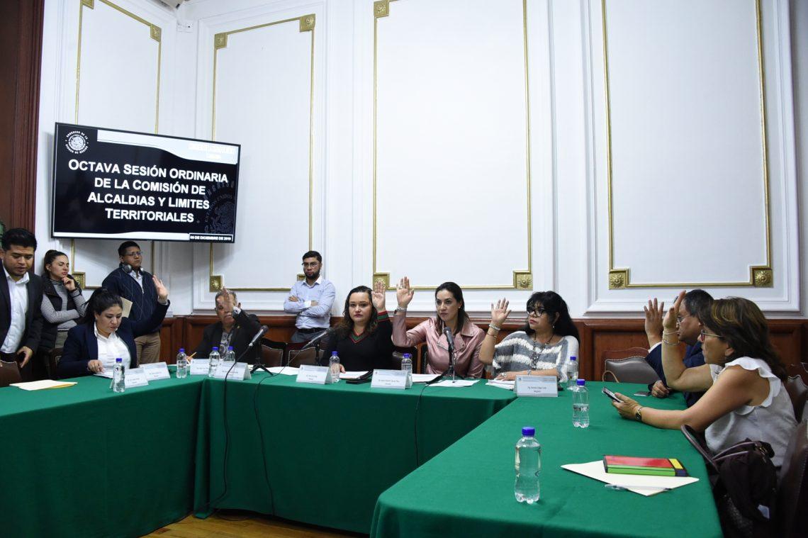 Comisión de Alcaldías y Límites Territoriales aprueba la Ley del Territorio de la Ciudad de México