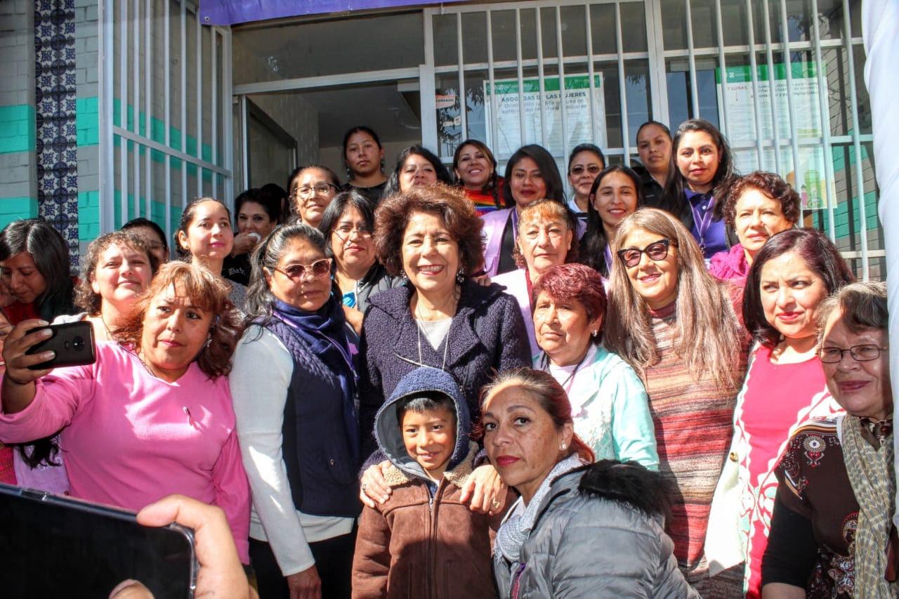 Tlalpan y CDMX reinauguran unidad de atención para mujeres