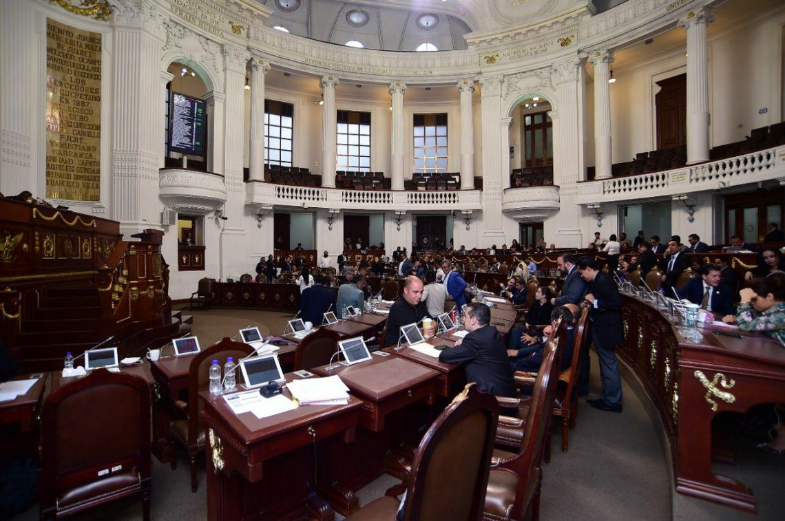El Congreso capitalino estudia reformas a Códigos Civil y Penal locales