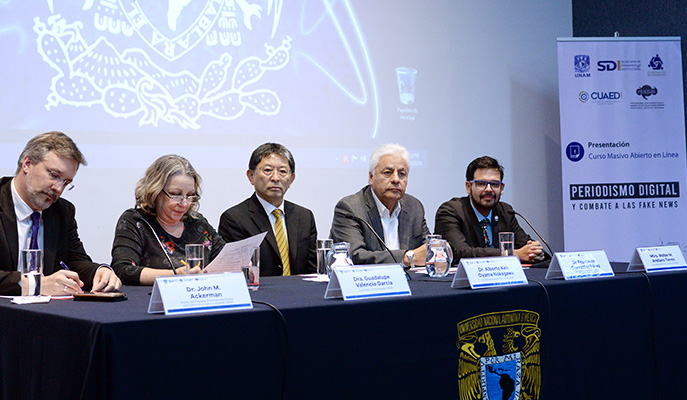Lanza la UNAM curso masivo en línea: fake news y seguridad digital