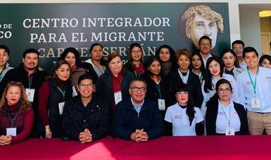 Abre Centro Integrador en Tijuana con servicios de hospedaje, alimentación, salud, empleo y educación