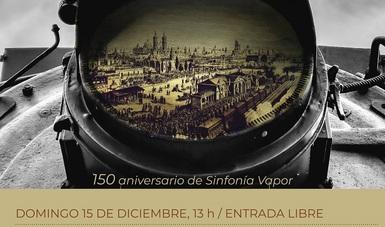 El Museo Nacional de los Ferrocarriles Mexicanos celebra 150 años de Sinfonía Vapor