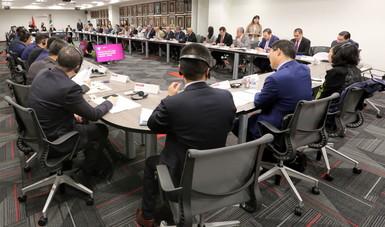 Sesiona Grupo de Alto Nivel Empresarial (GANE) México y China