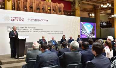 Inversión privada en el sector aeronáutico, en apoyo de la economía del bienestar: Jiménez Espriú