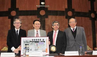 Destaca Ignacio Ovalle labor del Programa de Abasto Rural durante la celebración del Sorteo Mayor de Lotenal por su 40 aniversario