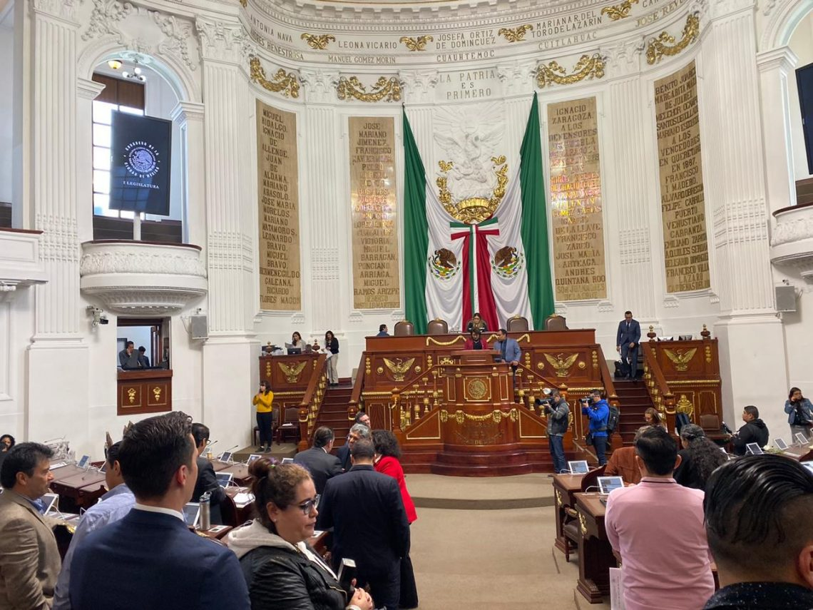 El Congreso capitalino analizará iniciativas para reformar la Constitución local y otras leyes